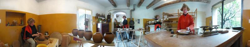 atelier de poterie Nathalie Hubert