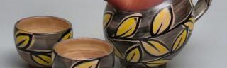 Théière et tasses