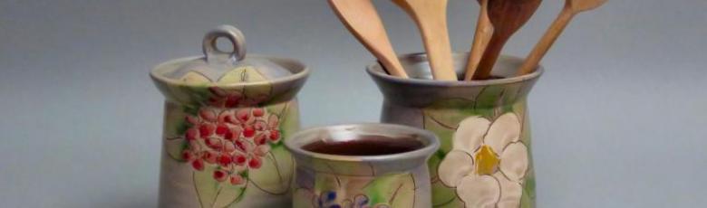 Boite et pots à cuillères