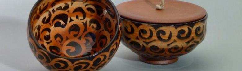 Bowl and jar - Illumination