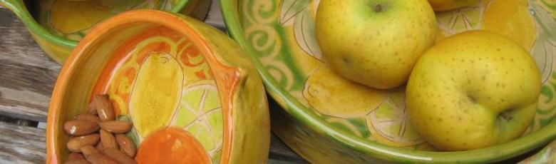 Owen dish and ramekins