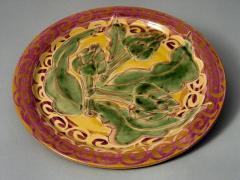 Assiette plate artichaut