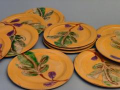 Assiettes plates figues