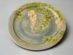 Assiette plate glycine