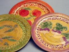 Dinner plates - vegetable
