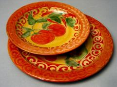Assiettes tomate
