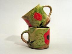 Mugs coquelicot